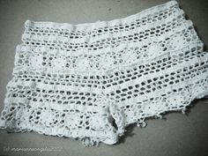 crochet shorts | Tumblr