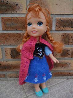 """Tuto Anna cape Snow Queen """"North Mountain"""""""