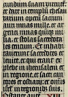 Textura Quadrata (Historical Examples)