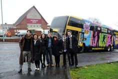 Charity bus to tour the country looking for Young Scot Award nominations Ackley Bridge, Waterloo Road, Tv Shows, It Cast, Tours, Glasgow, Charity, Awards, Films