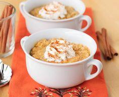 Pumpkin Sweet Brown Rice Pudding {#glutenfree, dairy-free}