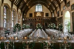 Stunning high centrepieces at Berkeley Castle for this beautiful Summer Wedding