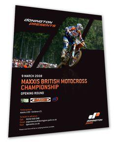 Donington Park Race Course - Poster