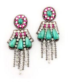 Vegabond Drop Earrings by  Suzanna Dai