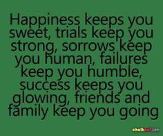 ... Keeps us...