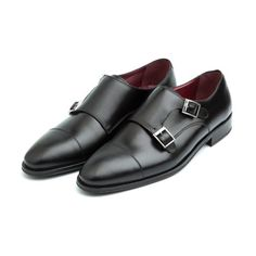 Monk strap for men Lamantia Black- Handmade in Spain in black calf by Beatnik Shoes. Worldwide shipping by UPS. Free EU home delivery. 169,9 €