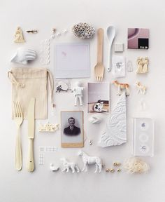 things i like | objects absent of color | cream + white