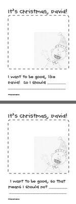 It's Christmas David! Freebie