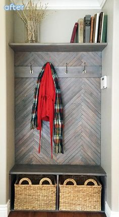 """Coat closet mudroom"" !"