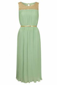 Louche Bechet Sequin Midi Length Dress - £79