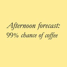 99% chance of coffee... ♥ ☕️ http://instagram.com/hilinecoffee zackswimsmm.tk
