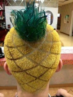 pineapple-hair