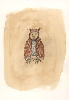 Owl by Lisa Hurwitz