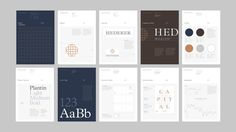 Brand guidelines for Illinois based Hedeker Wealth & Law by Socio Design