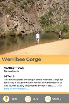 Werribee gorge is a fantastic bush walk in Vicotria, AU. Irrigation, The Locals, Walks, Hiking, Explore, Trekking, Hill Walking, Exploring