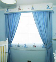 Modernos dise os de cortinas para ni os cosas casa pinterest bebe y rosa - Estores para habitacion bebe ...