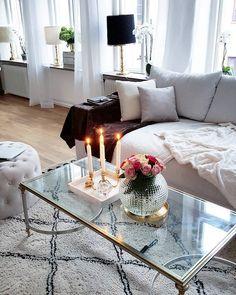Vit, Cozy, Inspiration, Living Room, House, Furniture, Home Decor, Fashion, Dekoration
