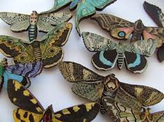 moth brooch - Google Search