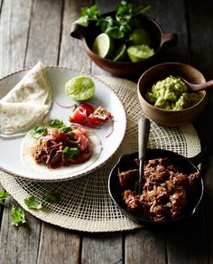 Paleo Beef Burritos by Chef Pete Evans Paleo style beef burritos, perfect for the coeliac or gluten-free diet. Rump steaks cooked with coconut oil and warmly spiced are served with avodaco salsa and tomato salsa. Recipe includes tortillas made with coconut flour and arrowroot.