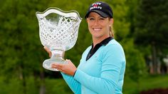 If Cristie Kerr looks comfortable holding the crystal Kingsmill Championship bowl, it's because she's won three of them.