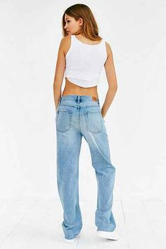 Mid-Rise Puddle Jean