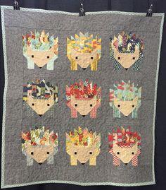 Hedgehogs - Oklahoma Quilt Show - 1/2015  Created by Melissa Sullivan