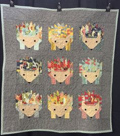 Hedgehogs - Oklahoma Quilt Show - 1/2015  Created by Melissa Sullivan