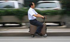 En Chine, vous pouvez transformer votre valise en scooter électrique (revu et corrigé par un agriculteur*)