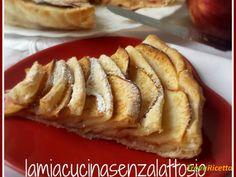 Torta di mele e pasta sfoglia – ricetta veloce  #ricette #food #recipes