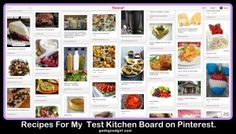 Recipes For My Test Kitchen