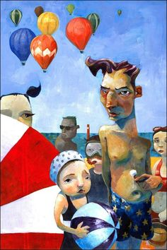 July by Aaron Jasinski Fine Art Prints available from Eyes On Walls ...