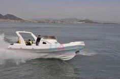 Liya rib boat with cabin Rigid Inflatable Boat, Rib Boat, Qingdao, Rafting, Transportation, Exterior, Cabin, Boats, Ships