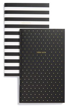 sugar+paper+'Take+Note'+Notebooks+(Set+of+2)+available+at+#Nordstrom
