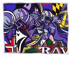 This one of a kind Baltimore Ravens art work is available at The Blue Door at Lake Shore in Pasadena, MD. Baltimore Ravens Logo, Raven Logo, Raven Art, Black Wings, National Football League, Bowser, Sonic The Hedgehog, Bird, My Love