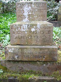 James Buckley; Ellen Buckley; Annie Ranson