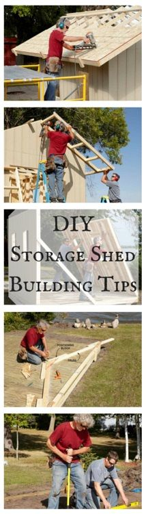 DIY Storage Shed Building Tips - Must-read pro advice on everything from floors…
