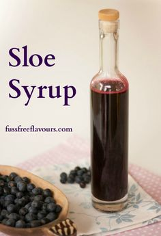 Not just for gin - this very easy to make and tasty sloe syrup is a fantastic base for lots of recipes.