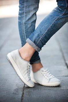 Tanaro sneakers - crisp white and classic #Legero #ss16 #shoes