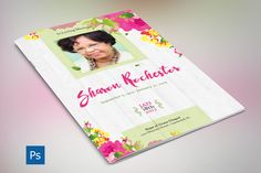 Baby Shower Program Template Download Welldesigned Funeral Program Template With Poems .