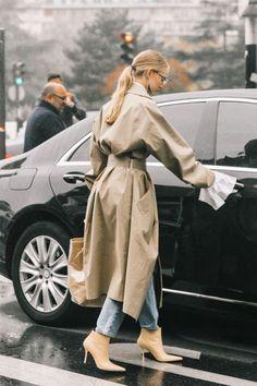 trench coat for rainy days