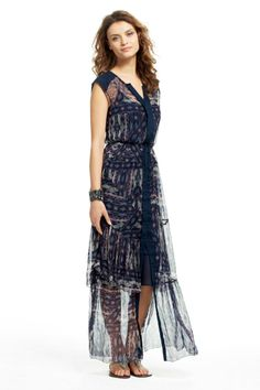 Duca Snake Patchwork Maxi Dress | Calypso St. Barth