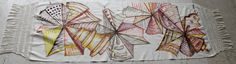 Shawl by mexican artist Miriam Libhaber. #CharityCoalition #HandpaintedShawls #Causeanimpact #HelpUs #HelpThem
