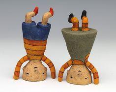 Love these Sarah Swink clay figures