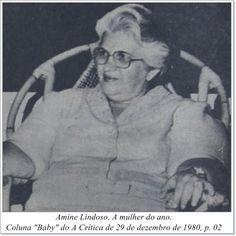 """Amine Lindoso. Coluna """"Baby"""" do A Crítica de 29 de dezembro de 1980."""