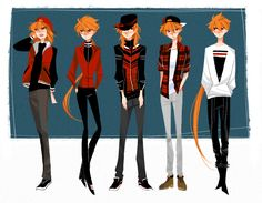 Brick's variety clothing by MOUCHbart on DeviantArt