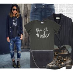 I'M BACK !!! Blogger Style: Sincerely Jules by megi32 on Polyvore featuring moda, Étoile Isabel Marant, 7 For All Mankind, Chloé and Forever 21