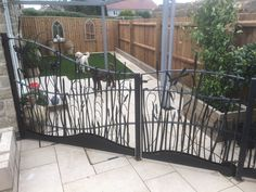 Meadow view railings and gates  - Art Of Metal