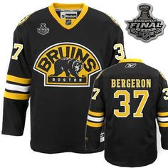 Professional USA Cheap Boston Bruins 37 Patrice Bergeron 2011 Stanley Cup 3rd  Black Jer Jersey Supplier 905f82771