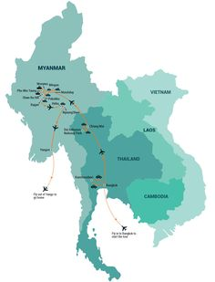 Thailand & Myanmar tour by Indochina Pioneer.