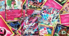 Fairy-type Pokémon TCG cards for Fairy-type week! How many do you have in your collection? #pokemon #pokemongo